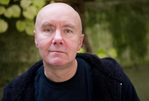 The scottish author Irvine Welsh is photographed on occasion of an interview in Munich, Germany, 07 November 2013. Phot: INGA KJER