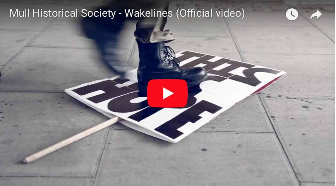 New MHS video for 'Wakelines' premiered now at Clash Magazine