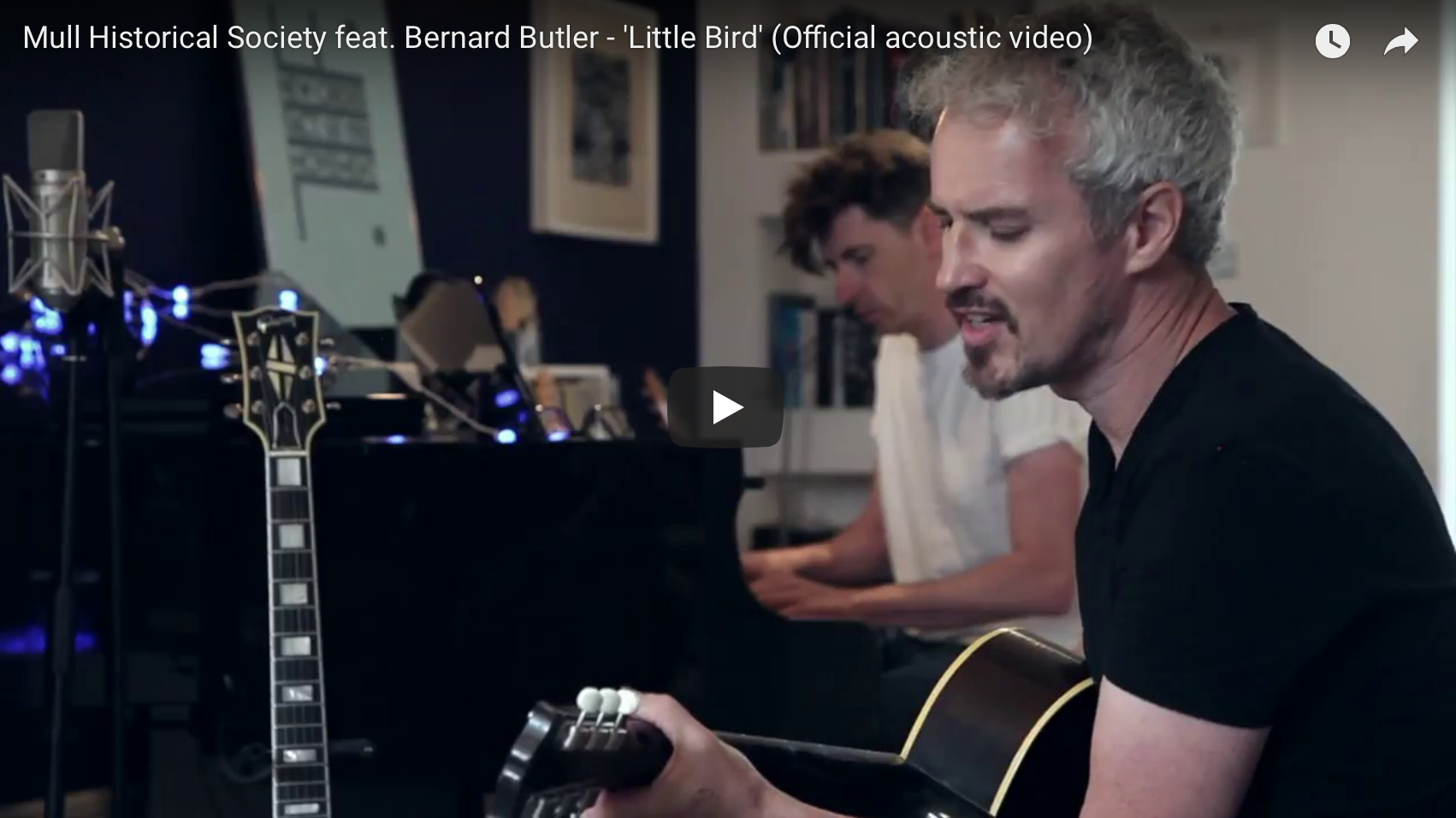 New Mull Historical Society single: 'Little Bird' / with acoustic version of 'Barcode Bypass'