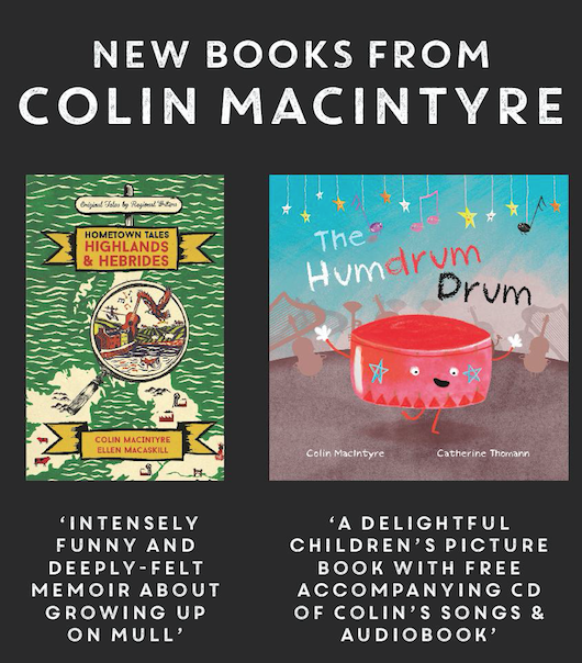 Colin's new books in 2018