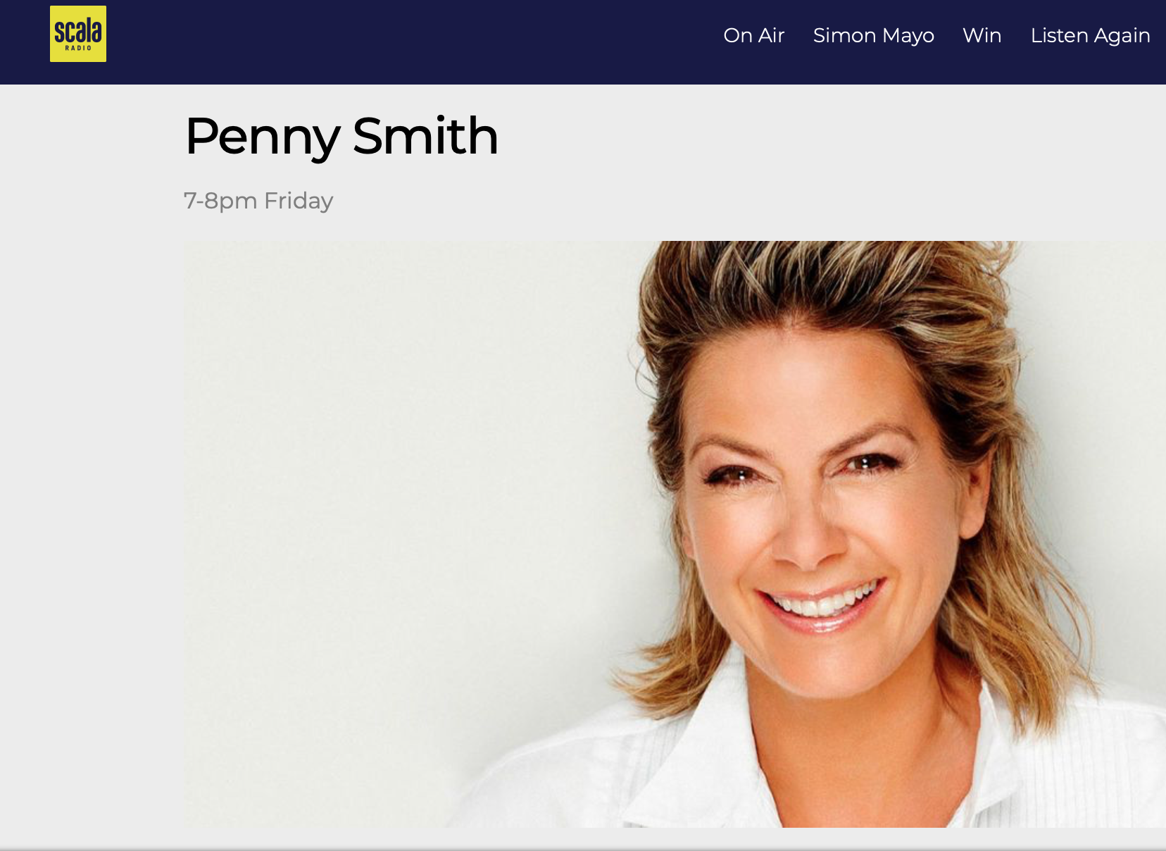 Colin a guest tonight on Scala Radio's 'Highly Rated' Show with Penny Smith