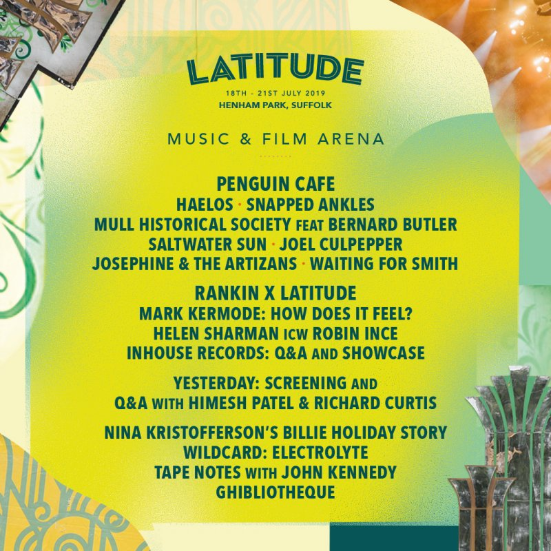 Mull Historical Society playing Latitude Festival! Feat. Bernard Butler