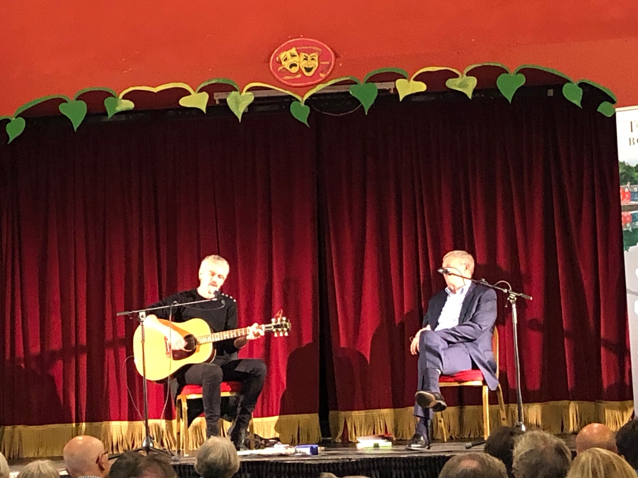 Colin and Alan Johnson – Tobermory Book Festival, isle of Mull